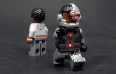 Life I Left Behind (MrKjito) Tags: lego minifig dc comics comic cyborg life i left behind super hero vic stone