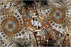 Stepping Down (Ross Hilbert) Tags: fractalsciencekit fractalgenerator fractalsoftware fractalapplication fractalart algorithmicart generativeart computerart mathart digitalart abstractart fractal chaos art mandelbrotset juliaset mandelbrot julia orbittrap metal sculpture spiral steps framework