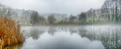 Misty............ (kevinwolves) Tags: baggridgecountrypark baggeridge view landscape water reflection kevinwolves hdr nikon nikond300 nikkor55200mm panoramic