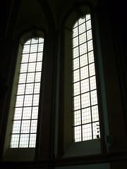 Kirchenfenster (Jrg Paul Kaspari) Tags: klosterhimmerod zisterzienser kloster kirche church kirchenfenster window fenster quadrat quadratmuster muster minimal art