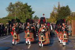 Memorial Parade (hutchyp) Tags: memorial parade military soldiers bagpipes pipers scots kilts warsash hampshire
