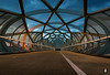 The Bridge,..... (@FTW FoToWillem) Tags: infrastructuur infra abstract architectuur architecture city rotterdam charlois longexposure sluitertijd shutter avond avondfotografie avondopname brug bridge lijnen lines willemvernooy fotowillem ftw dutch netherlands holland hollanda hollande zuidholland travel netkousbrug stad town street a15
