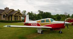 N5901Q Mooney M20, Oshkosh (wwshack) Tags: airventure2016 eaa eaaairventure kosh m20 mooney osh oshkosh usa unitedstates whittmanregional wisconsin n5901q