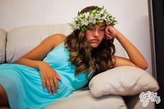 Nick & Yvette Wedding 8; Sleeping (Vito Fun) Tags: vito fun woman bluedress