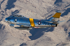 F-86 Sabre (vsturgess) Tags: f86 sabre nellis airforce base airshow canon 7d aircraft aviation afb air flying fighter fastjet force