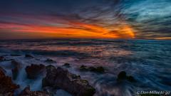 CaspersenSunset (DonMiller_ToGo) Tags: beachlife sunsetmadness sunsets nature goldenhour florida hdr caspersenbeach 3xp hdrphotography seascapes outdoors sky sunsetsniper gulfofmexico d810 beachphotography rocks