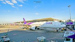 Thai Airways : HS-TJH Boeing 777-200 (Kan Rattaphol) Tags: aircraft airplane airliner thaiairways thaiairwaysinternational staralliance tg550 tg bkk vtbs suvarnabhumiairport suvarnabhumiinternationalairport boeing b777 b777200