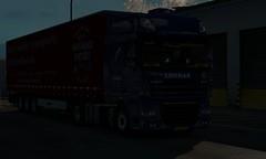 [ETS2 1.25] daf xf 105 510 krone trailer (trucker on the road) Tags: ets2 125 daf xf 105 510 krone trailer