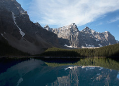 Moraine Lake (muhabbas) Tags: canada nationalpark morainelake highresolutionimages