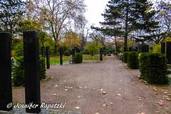So many graves (Bernsteindrache7) Tags: autumn sky color flora fauna tree dsseldorf garden green germany heaven himmel outdoor landscape park panasonic lumix grab graves