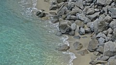 Tropea shoreside (Tery14) Tags: italy tropea sea water tyrrhenian stone