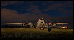 _JM10082 (saltley1212) Tags: wr963 avro shackleton engine run night timeline photo shoot coventry