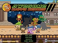 快樂城-英雄集結(Awesome Happy Heroes)