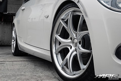 BMW_328i_MRR_GT8_WHEELS_HS_09 (MRR WHEELS) Tags: white silver wheels tires bmw rims e90 328i