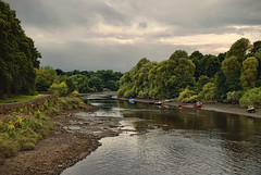 Beautiful river scene