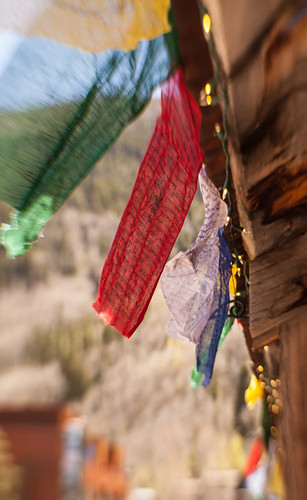 Prayer Flags - Photo Credit - Nori Lupfer