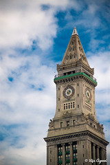 My most favorite building in Boston! (Viju Agnani's Photography) Tags: house tower boston downtown district north end custom financial