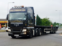 M100 DCL (Cammies Transport Photography) Tags: road man truck lorry kings aurora ltd tga rosyth dyce carriers m100dcl borealls