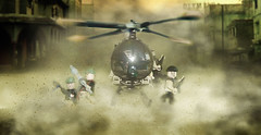 Hughes MH-6 Little Bird (pitrek02) Tags: usa black bird lego little hawk navy down hughes littlebird lugpol