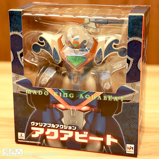MegaHouse - Variable Action 系列『魔動水王』開箱報告