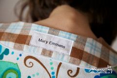 New labels (Mary-and-Tobit) Tags: robertkaufman valoriwells sewingforboys goodnightsweetheartpyjamas dellaflannel ananenomelabels