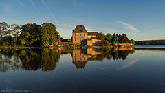 Reflet d'Abbaye (David-Martinelli-Photos.net) Tags: bretagne breizh reflet étang bzh abbaye paimpont