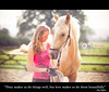 """Duty makes us do things well love makes us do them beautifully"" (Sasha L'Estrange-Bell) Tags: people horse animal animals bokeh palomino palominohorse oliviabell tbsart"