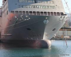 Bulbos de buques (56) (javier_cx9aaw) Tags: de shipyard shipbuilding bulbos proa puertovigo industrianaval astillerosconstrucciones cxaaw