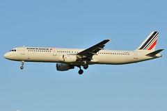 Airbus A321-200 Air France (AFR) F-GMZC - MSN 521 (Luccio.errera) Tags: france air airbus msn tls 521 afr a321200 fgmzc