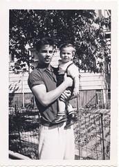 Bronx men, Uncle Joe and Bobby, 1954 (Robert Barone) Tags: newyorkcity usa newyork vintage bronx 1954 joe bobby americana thebronx italianamericans fotodepoca disisto robertbarone