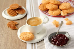 Cup of espresso with coconut cookies on a plate (Iryna Melnyk) Tags: morning food brown white cup coffee cookies closeup breakfast table dessert strawberry cookie candy drink sweet coconut object traditional rustic beverage balls tasty plate dry spoon fresh stack sugar gourmet delicious biscuit eat homemade pile bakery snack pastry mug brunch raspberry biscuits espresso tablecloth jam confectionery baked confection nutrition calories
