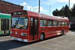 Preserved Potteries KRE279P (volvob12m420) Tags: show bus tram national leyland wirral potteries