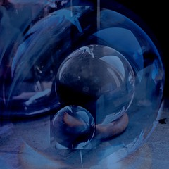 spheres (fransje 2103) Tags: blue abstract glass composition canon reflections square europe paysbas schiedam oktober2013 decontrabas