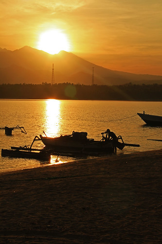 Early morning - Sire Beach, Lombok