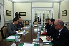 Reunião com o Sindicato dos Magistrados do Ministério Público