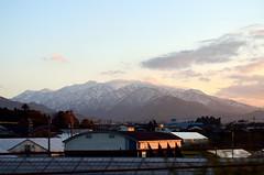 /Snow mountain 4 (koludabone49) Tags: winter sky mountain snow japan landscape evening nikon         snowmountain  d5100