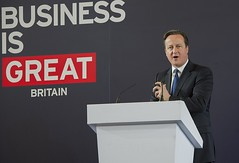 Prime Minister speaks at the GREAT Business exhibition in Shanghai (The Prime Minister's Office) Tags: china pm trade primeminister davidcameron