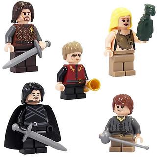 冰與火 權力遊戲 LEGO MOC 人偶