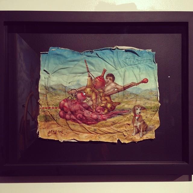 """Los Olvidados"" Hugo Salazar • ""Bestiario"" #muestra colectiva #arteenlima #arte #artinlima #art #artistaperuano #artist #artista #peruvianartist"