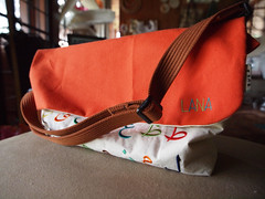(ahmadjaa) Tags: bag embroidery sewing letters sew olympus arabic malaysia kualalumpur zuiko beg selangor e5 jawi zd sulam huruf jahit zd1260mm ahmadjaa