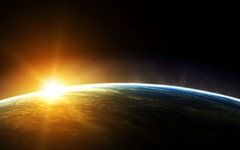 Sunlight-on-Earth-Surface (GurshobitBrar) Tags: blue red galaxy planets newworlds