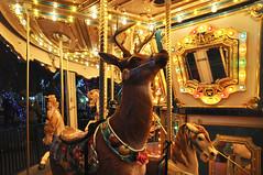 Magical Forest Village carousel #1 (Santi-Jose) Tags: christmas vegas winter holidays lasvegas carousel magicalforest