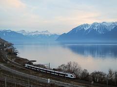DAY 1 (Riex) Tags: railroad mountain lake alps train alpes switzerland suisse transport lac railway leman montagnes vaud lavaux chemindefer voieferrée s95 sbbcff canonpowershots95 explored010114