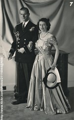 Princess Elizabeth & Prince Philip (romanbenedikhanson) Tags: 1949 princephilip britishroyalfamily princesselizabeth britishroyalty