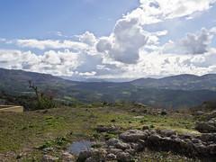 Wolken / Clouds (schreibtnix on'n off) Tags: mountains travelling clouds landscape reisen day cloudy kreta wolken berge greece crete griechenland landschaft archanes idamountains idagebirge olympuse5 schreibtnix