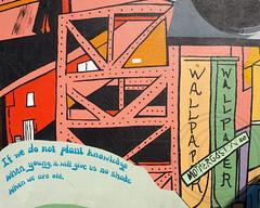 BELIEVE IN EAST NEW YORK Graffiti Mural, Broadway Junction, Brooklyn, New York City (jag9889) Tags: street city nyc school ny newyork building art love wall brooklyn project graffiti community mural artist highschool believe subwaystation 2012 dondi aspirations 2014 groundswell eastnewyork broadwayjunction jag9889 20140117 believeineastnewyork