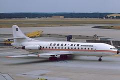 Corse Air International SE.210 Caravelle 6N F-BYCD (Manfred Saitz) Tags: corse frankfurt air international fra crv caravelle eddf s210 fbycd