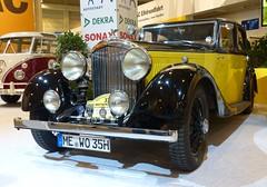 Bentley Park Ward Sports Saloon 1934 yellow vlt (stkone) Tags: show germany deutschland essen motor westfalen nordrhein 2013 worldcars