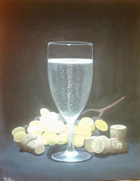 The world 39 s newest photos by patou artiste peintre - Peinture couleur champagne ...