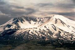 Mt. St. Helens (Shutterbug Fotos) Tags: mountain volcano crater scanned washingtonstate blast eruption mtsthelens devastation canonrebel2000 redzone nationalvolcanicmonument